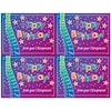 Graphic Image Laser Postcards, Stars, Birthday