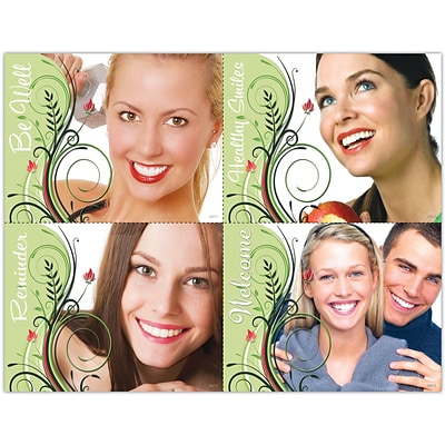 Cosmetic Dentistry Laser Postcards, Assorted