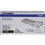 Brother Genuine TN630 Black Original Laser Toner Cartridge