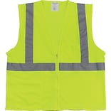 PIP® 2-Pocket Safety Vest, Yellow, XL