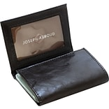 Joseph Abboud J04295 Leather Trifold Wallet, Black