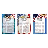 Assorted Calendar Magnets; 4x6, Patriotic