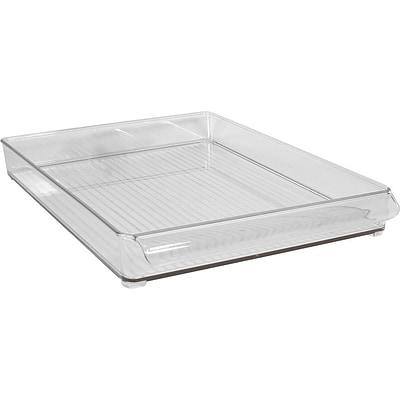 InterDesign® Plastic Fridge and Freeze Binz, Clear