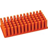 Poppin Orange Silicone Grip Grass