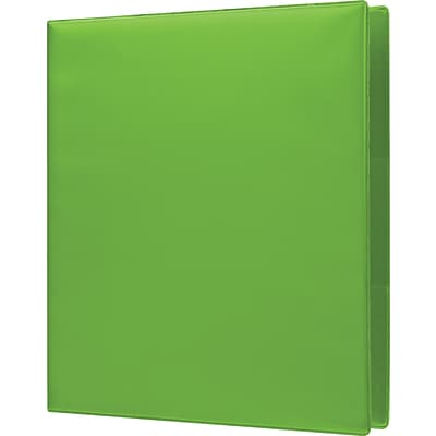 1 Heavy-Duty Binder with D-Rings Chartreuse