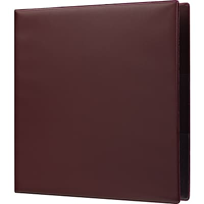 2 Staples® Heavy-Duty Binder with D-Rings, Maroon