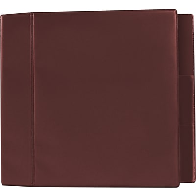 5 Heavy-Duty Binder with D-Rings, Maroon