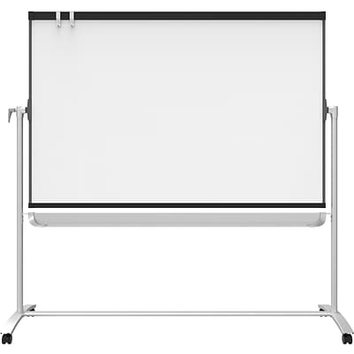 Quartet® Prestige® 2 Mobile Presentation Whiteboard Easel, Magnetic, 6 x 4