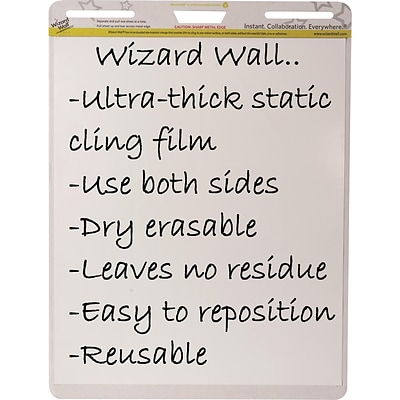 Wizard Wall® Flip Chart Easel Pads, 24x29, 6/Pack