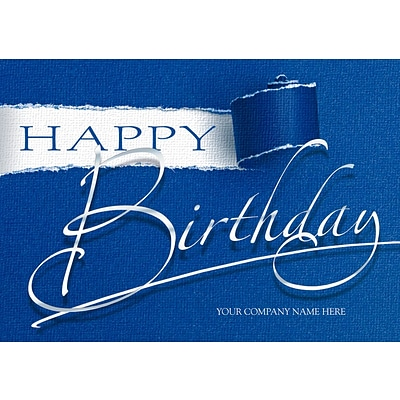 Holiday Expressions® Everyday Birthday Greeting Cards; Unwrapped Birthday
