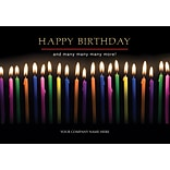 Joyful Candles Birthday Card