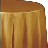 Creative Converting Glittering Gold Octy/Round Tablecover