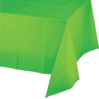 Creative Converting Fresh Lime Rectangular Tablecover