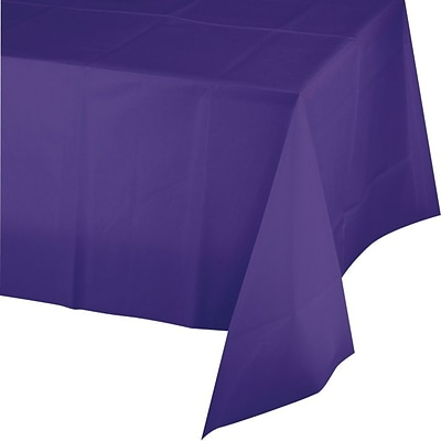 Creative Converting Purple Rectangular Tablecover