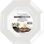 Creative Converting White Octagonal Banquet Plates, 8/Pack