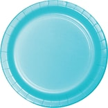 Creative Converting Pastel Blue 10 Round Banquet Plates, 24/Pack