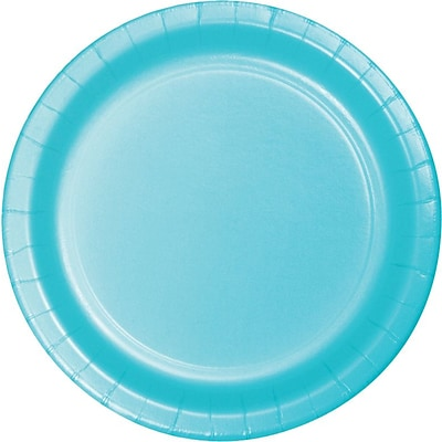 Creative Converting Paper Pastel Blue 9 Round Dinner Plates, 24 Pack (47157B)