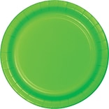 Creative Converting Fresh Lime 7 Round Luncheon Plates, 24/Pack