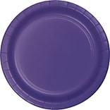Creative Converting Purple 9 Round Dinner Plates, 24/Pack