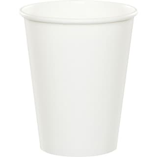 Creative Converting White Hot/Cold Drink Cups, 24/Pack