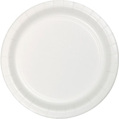 Creative Converting White 10.25 Round Banquet Plates, 24/Pack