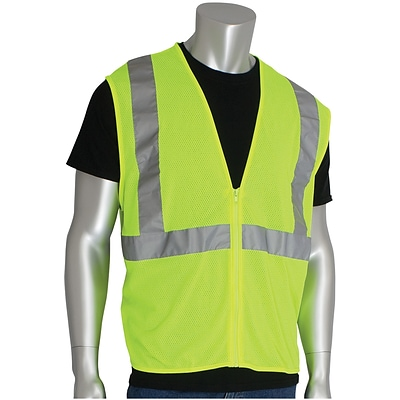 PIP® Safety Vest, Yellow, XXL