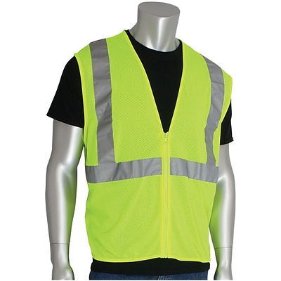 PIP® Safety Vest, Yellow, Large