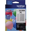 Brother Ink Cartridge High-Yield; Black (LC203BKS)