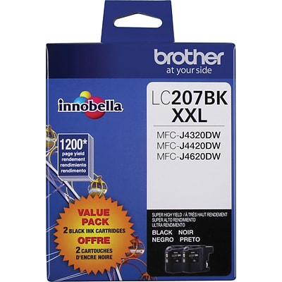 Brother LC 203YS Yellow Ink Cartridge, High Yield