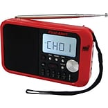 First Alert® AM/FM Weather Band Clock Radio with Weather Alert