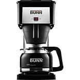 Bunn® 10-Cup Coffee Brewer with Decanter, Black/Stainless Steel