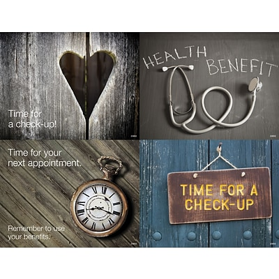Medical Arts Press® Photo Image Assorted Laser Postcards; Rustic Wood