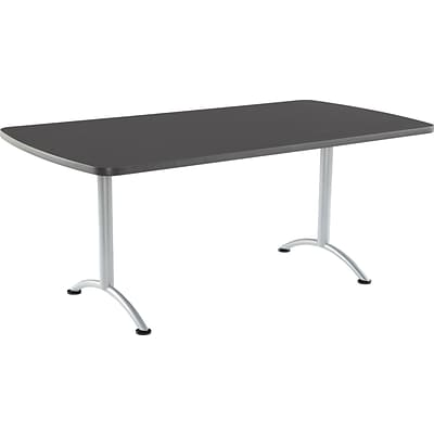 ARC Fixed Height Table 36x72 Rectangular, Graphite