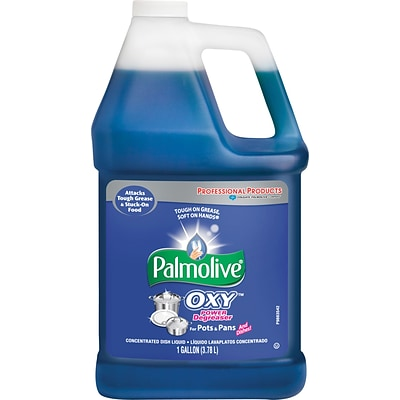 Palmolive® Dishwashing Soap; Oxy Plus Power Degreaser, 1 Gallon