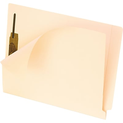 Pendaflex Smart Shield End Tab Folders, Letter size, Manila
