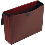 Pendaflex 3 1/2 Inch Expansion Standard Wallet, Coated Red Fiber, Letter, Red
