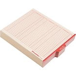 Pendaflex End Tab Outguides, Red Center OUT Tab, Manila, Letter, 100/Box