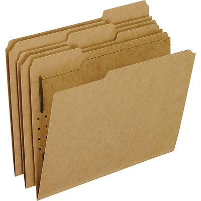 Pendaflex Recycled Kraft Classification Folder, 2 Expansion, Letter Size, 50/Box (PFX FK211)