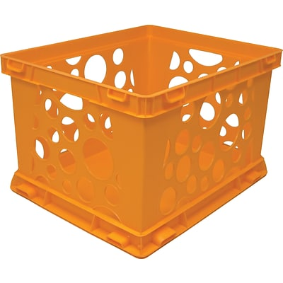 Large Storage and Transport Crate; Neon Orange