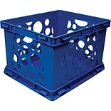 Large Storage and Transport Crate; Blue