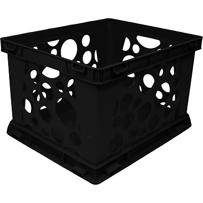 Large Storage and Transport Crate; Black