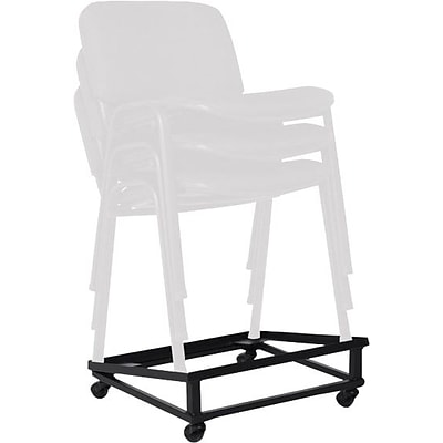 Offices To Go® Dolly, Black, 8H x 21 1/2W x 23D