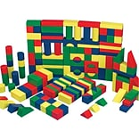 S&S® Colored Wooden Block Set; 65/Set
