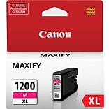 Canon PGI-1200XL Magenta Ink Cartridge (9197B001); High Yield
