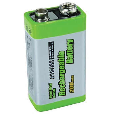 Ultima 9v Rechargeable Battery for TENS Units 30278 and 30279