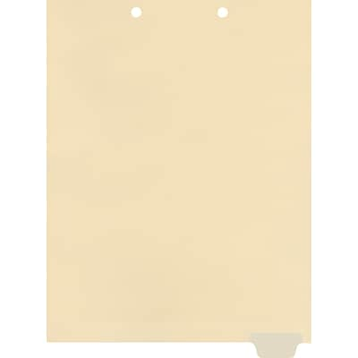 Medical Arts Press® Write-On End-Tab Chart Dividers, Position 6