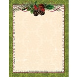Great Papers® Pinecone Garland Letterhead, 80/Pack