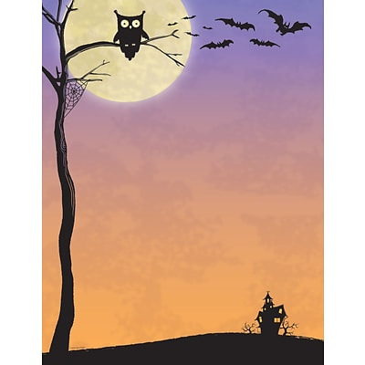 Great Papers® Halloween Who Letterhead, 80/Pack