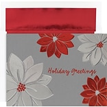Great Papers® Holiday Cards Holiday Poinsettias  , 16/Count