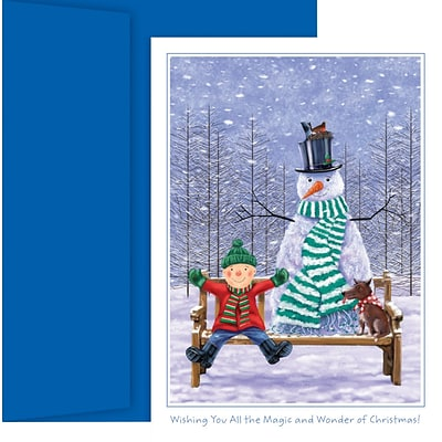 Great Papers!® Non-Imprinted Boxed Holiday Cards; The Magic and Wonder of Christmas